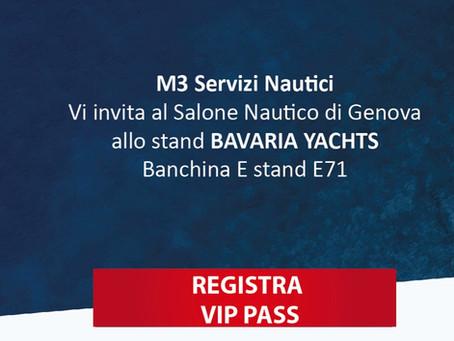 M3 Servizi Nautici ti aspetta al Salone Nautico di Genova