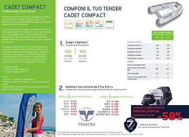 ZODIAC CADET COMPACT