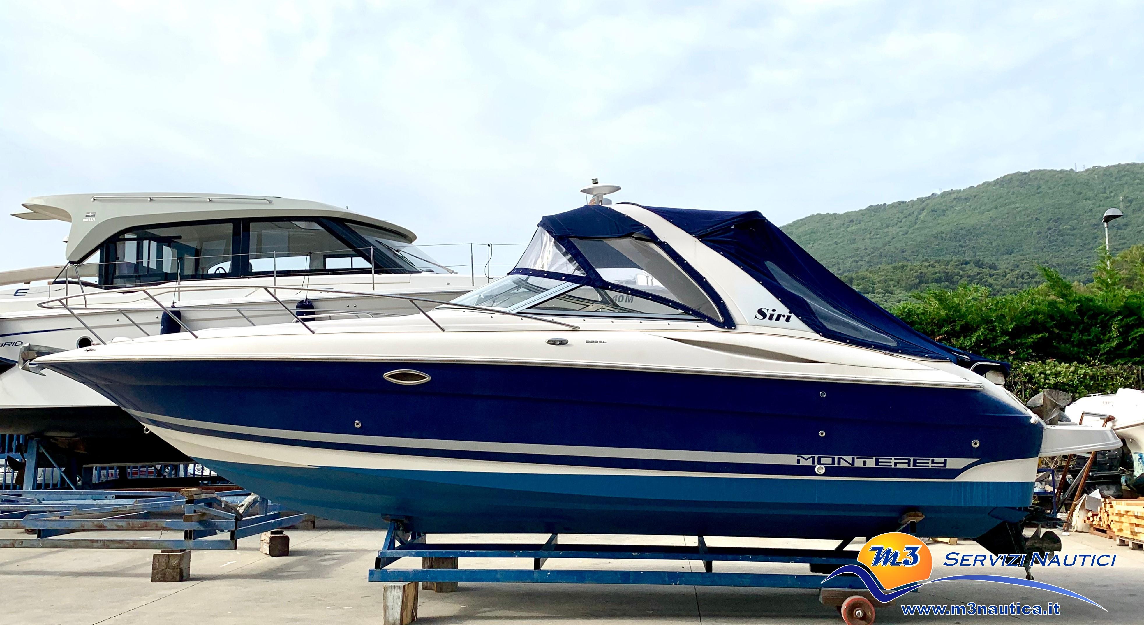 Monterey 298 S Cuddy barca usata img2