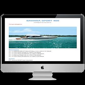 Configura la tua barca Bavaria