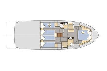 bavaria virtess 420 fly layout interni