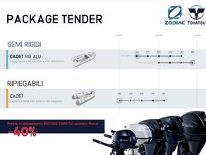 Convenienza Package Tohatsu & Zodiac - Bombard