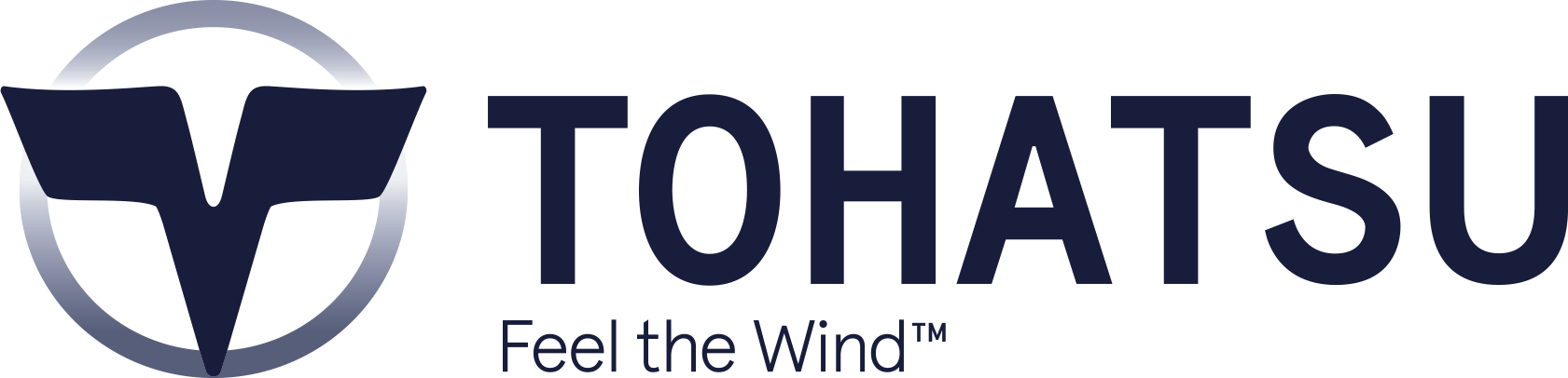 Logo orizzontale Feel the wind