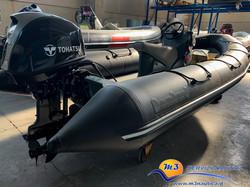 BOMBARD EXPLORER 500 con Tohatsu 40 CV