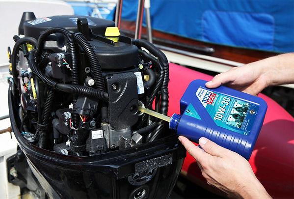 Olio motore Liqui Moly Marine