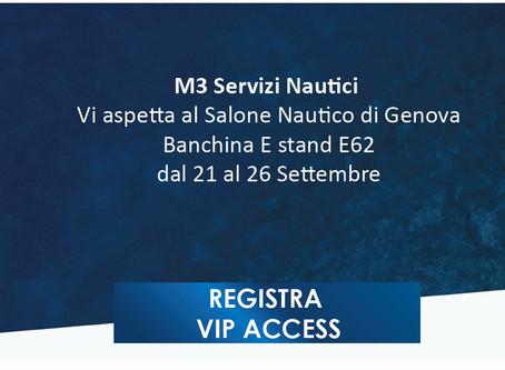 M3 Servizi Nautici & BAVARIA Yachts al 57° Salone Nautico di Genova