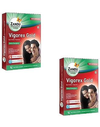 Zandu vigorex gold combipack 20 tab