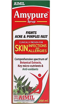 Amypure syrup aimil pharma (200ml pack)