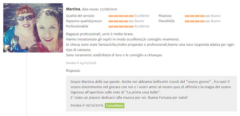 Recensione Martina
