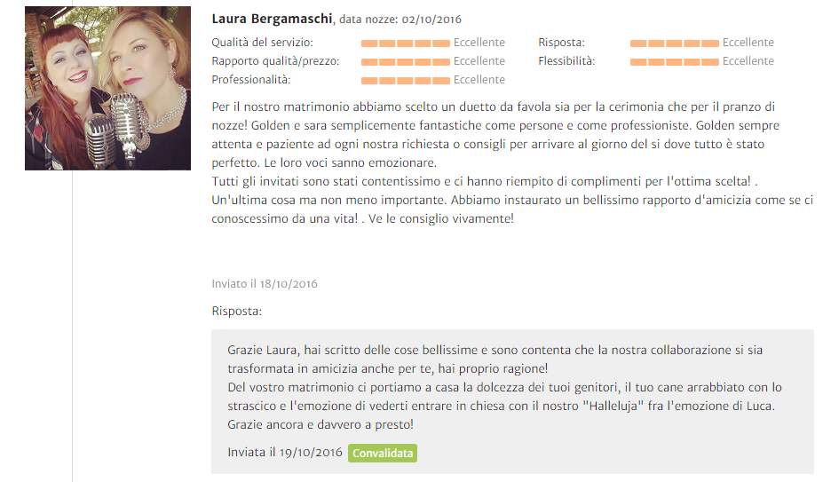 Recensione Laura Bergamaschi