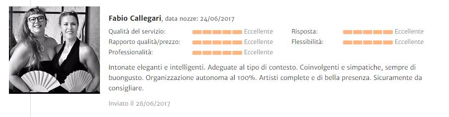 Recensione Fabio Callegari
