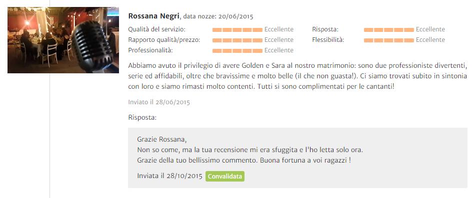 Recensione Rossana Negri