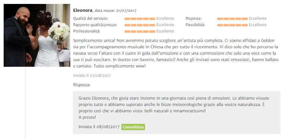 Recensione Eleonora Dellera