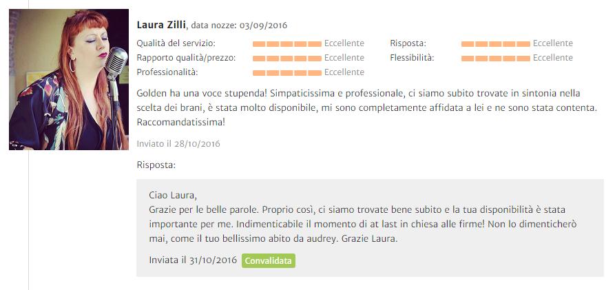 Recensione Laura Zilli