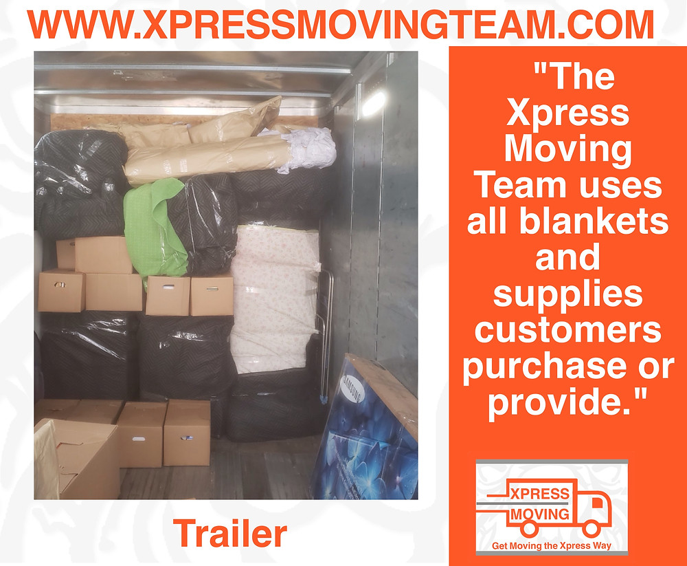 Moving Labor Georgetown Texas | Portable storage container loaded by the Xpress Moving Team 512-943-7709