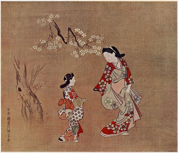1399px-2_Bijin-zu_by_Hishikawa_Moronobu.