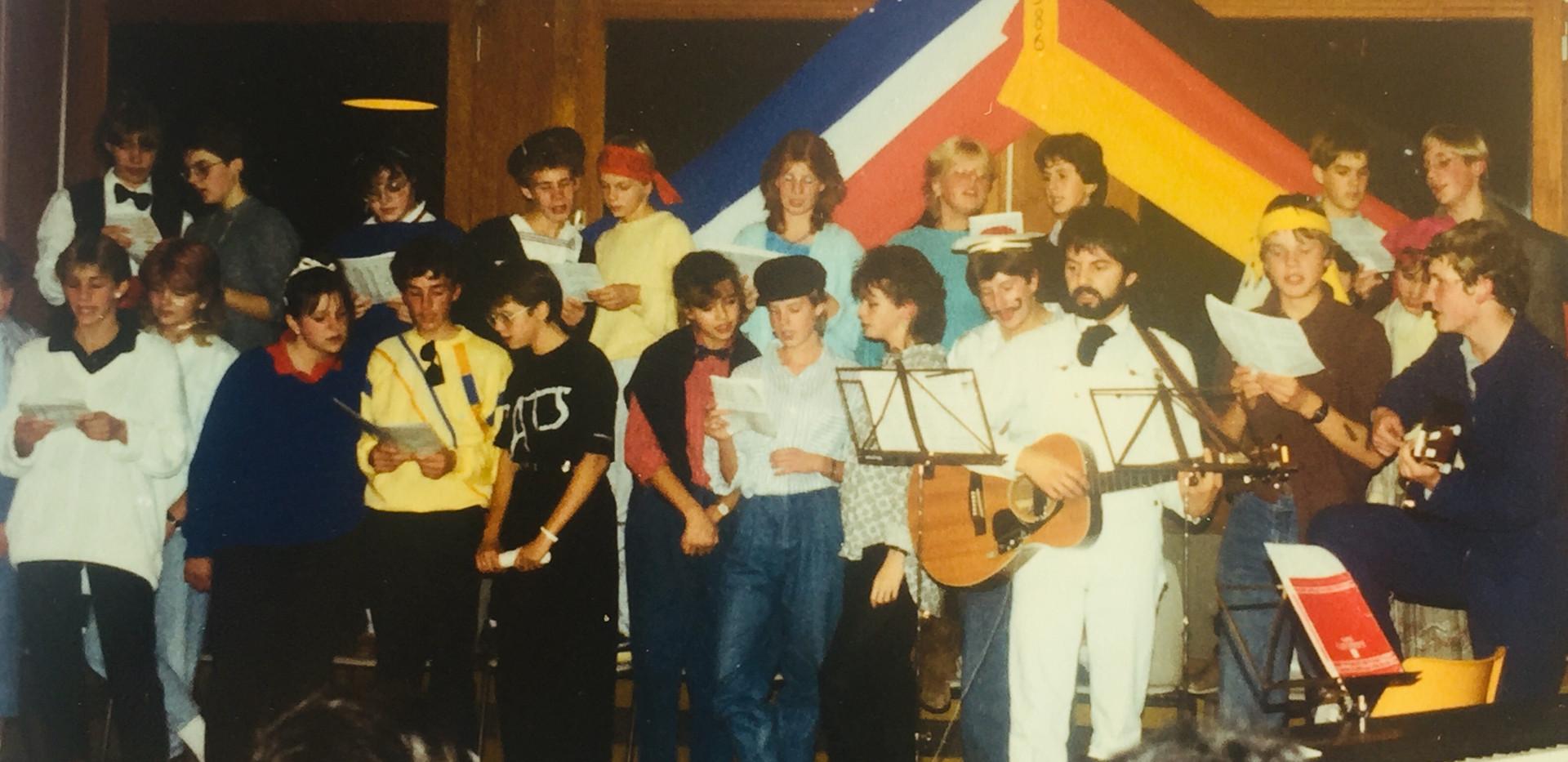 Chorale franco-allemande au Collège de Verson