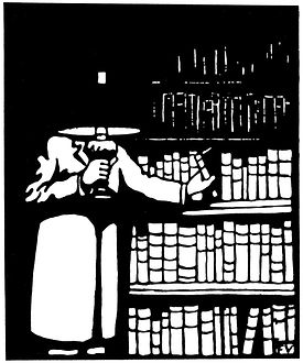 _Le Bibliophile_ de Félix Vallotton