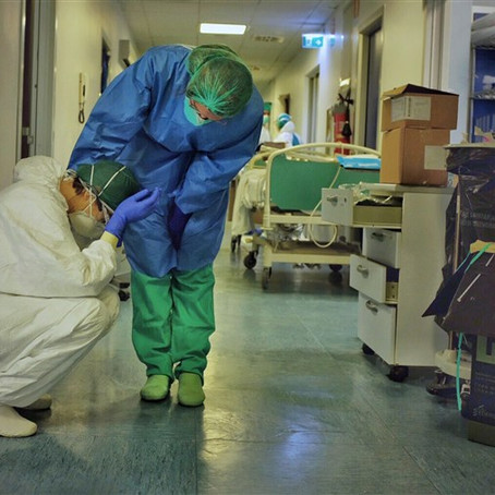 The Next Wounded Warrior: The Pandemic's effect on Essential Workers.