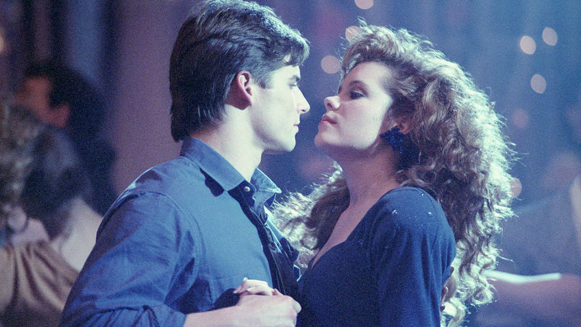 Louise and Brad in Teen Witch