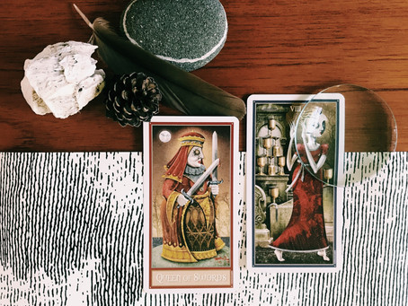 Tarot Musings: Be Strong