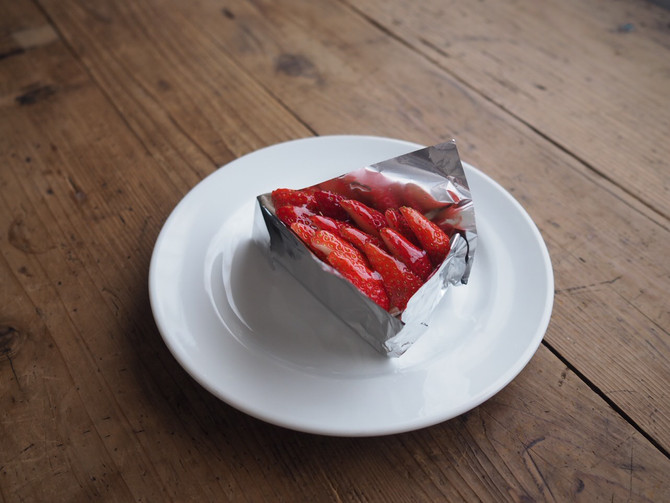 イチゴのタルトの時