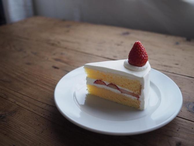 12月 イチゴのショートケーキ