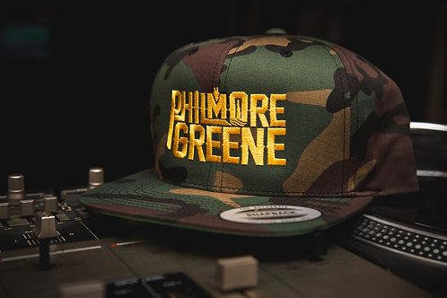 Philmore Greene Camo snapback