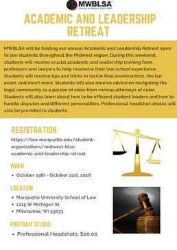 MWBLSA Academic and Leadership Retreat