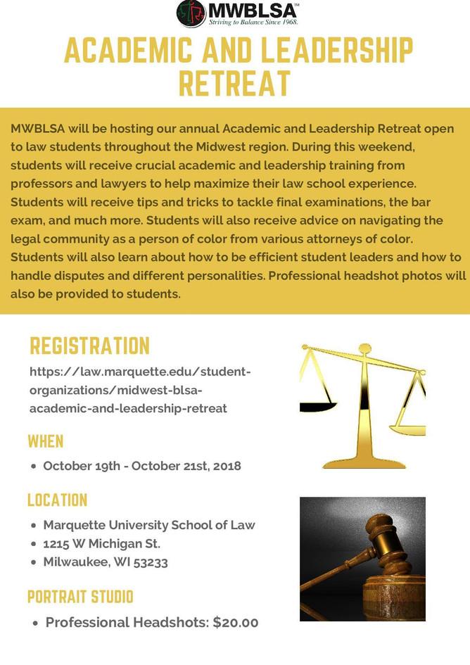 MWBLSA Academic and Leadership Retreat