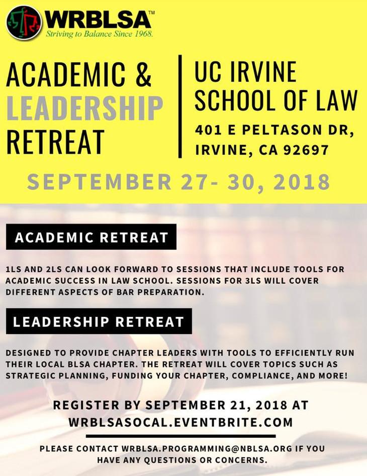 WRBLSA Academic & Leadership Retreat