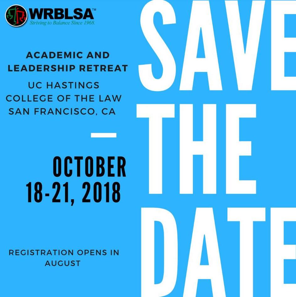 WRBLSA Academic and Leadership Retreat (San Francisco)
