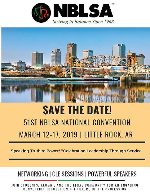 NBLSA Convention Save the Date Flyer (Up