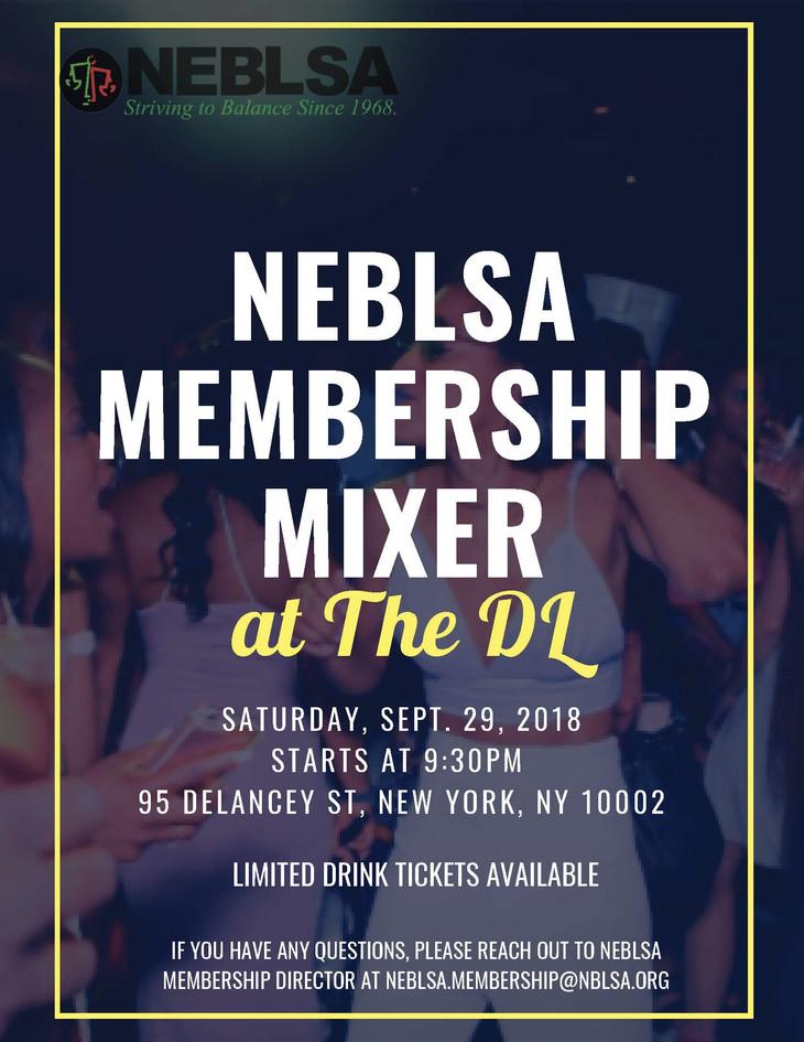 NEBLSA Membership Mixer