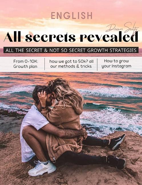 All the secret & not so secret Instagram growth strategies (English)