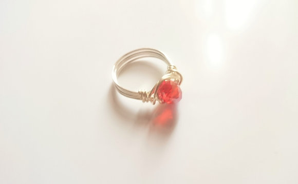 Red Swarovski Element