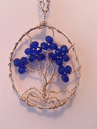 Swarovski Elements TREE OF LIFE Necklace