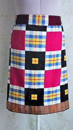 Kente Weave Skirt