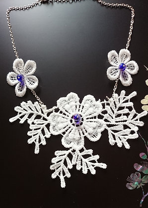 Guipure Lace Motif Swarovski Elements Necklace