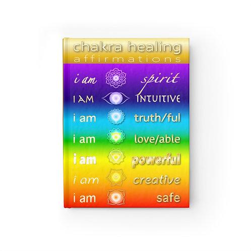 Chakra Healing Affirmations - Blank Journal