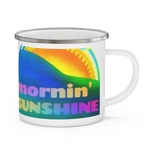 Mornin' Sunshine - Enamel Camping Mug