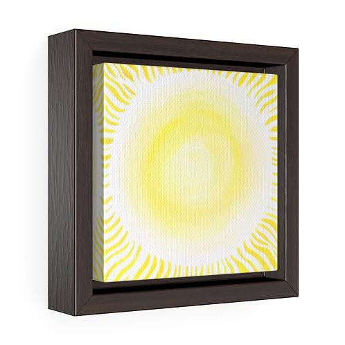 Illumination - Square Framed Premium Gallery Wrap Canvas