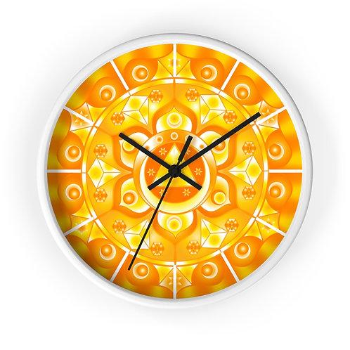 Sacral Chakra - Wall clock