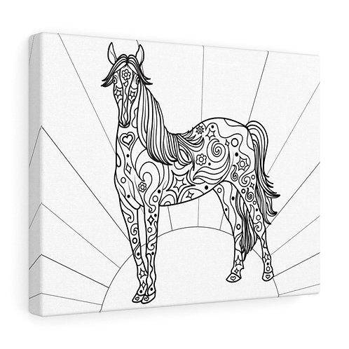 Healing Horse - Canvas Gallery Wrap
