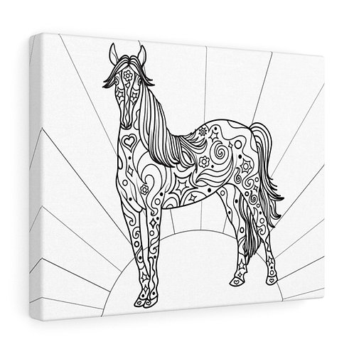 Healing Horse - Canvas Gallery Wraps