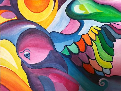 Your Personalized Visionary Reiki Artwork Soul Path Portrait