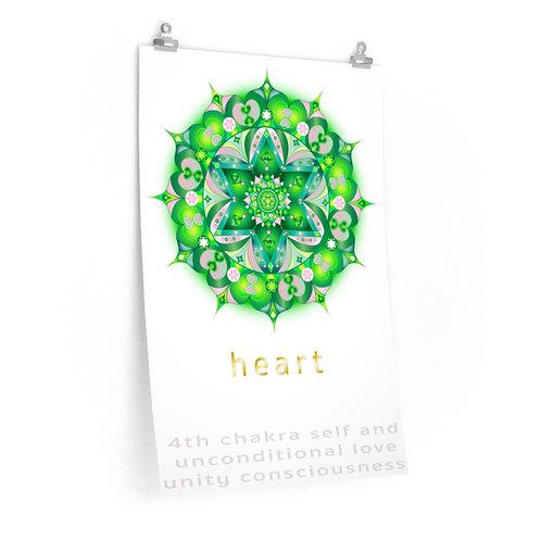 Heart Chakra - Premium Matte Vertical Posters
