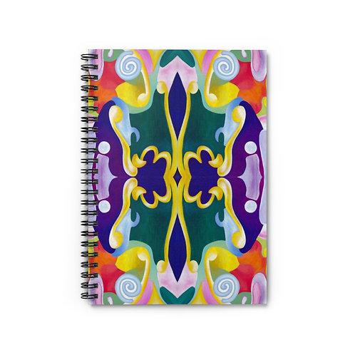 New Beginning - Spiral Notebook Ruled Line