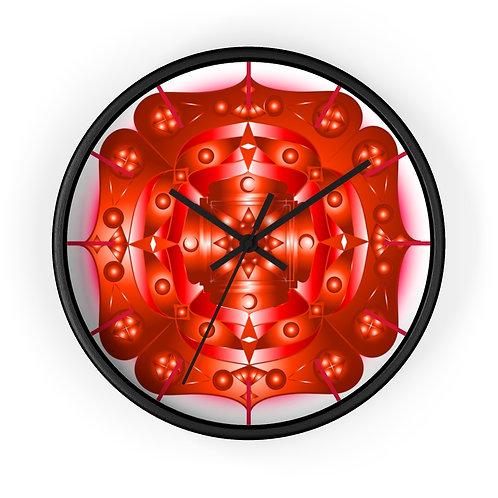 Visionary Root Chakra - Wall Clock