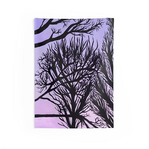 Winter Tree - Indoor Wall Tapestry
